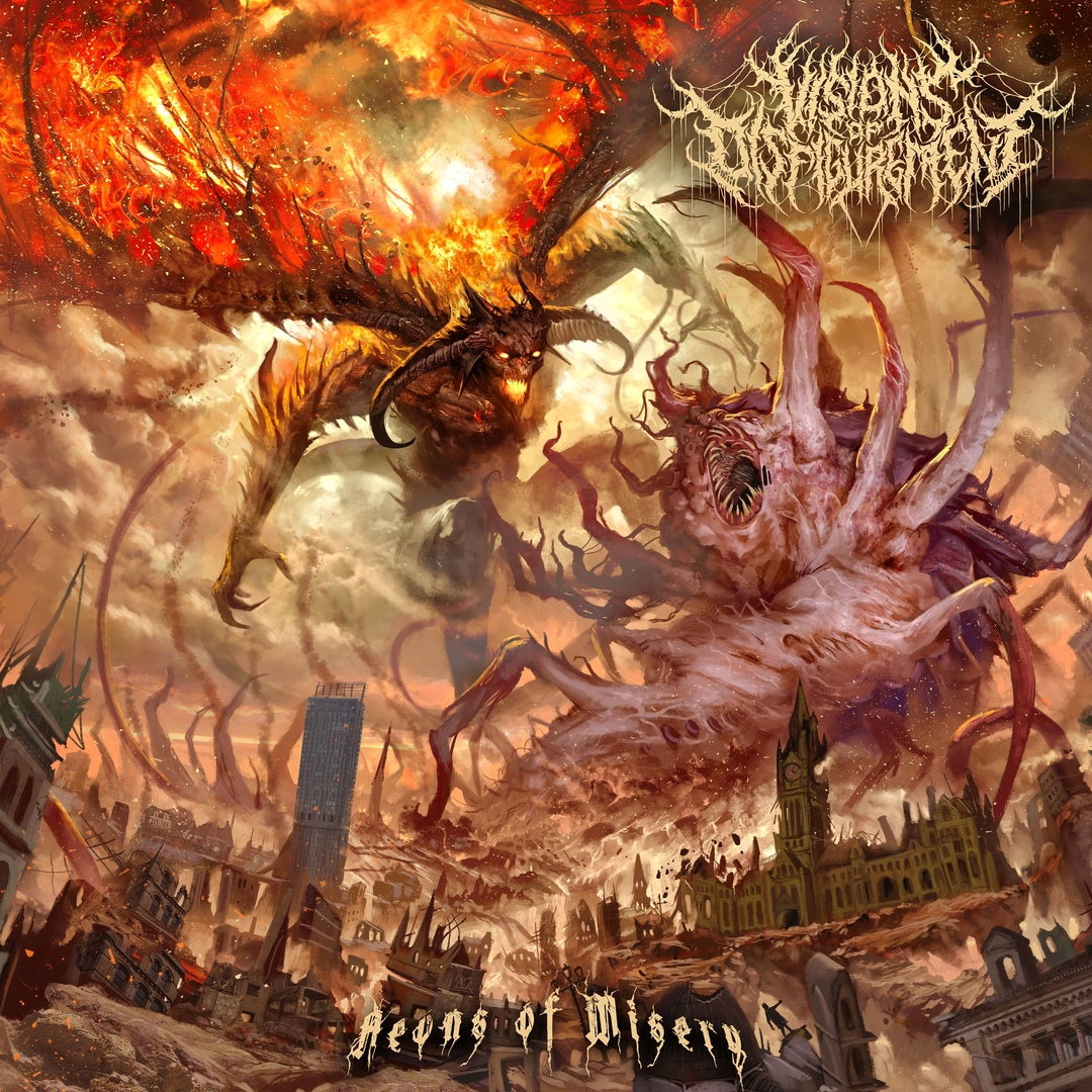 Visions of Disfigurement - Aeons of Misery